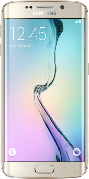 Galaxy S6 edge 128GB Gold (Front)