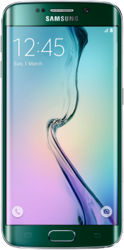 Galaxy S6 edge 128GB Green (Front)