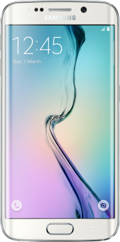 Galaxy S6 edge 64GB White (Front)