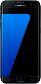 Galaxy S7 edge Black Refurb (Front)