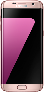 Galaxy S7 edge Pink Gold (Front)