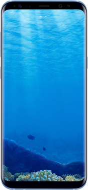 Galaxy S8 Coral Blue (Front)