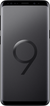 Galaxy S9 64GB Black Refurbished (Front)