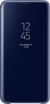 Galaxy S9 Clear View Case Blue