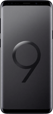 Galaxy S9+ Black (Front)