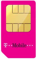 main T-Mobile Pay Monthly SIM Card
