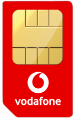 vodafone sim only contract for blackberry