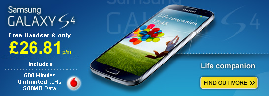 Pre-order your Samsung Galaxy S4 now