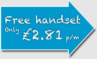 Free handset only £2.81 per month - Student Deals