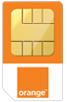 Orange Mobile sim card