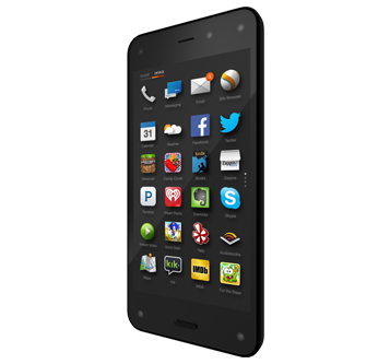 Handset design of the Amazon Fire release