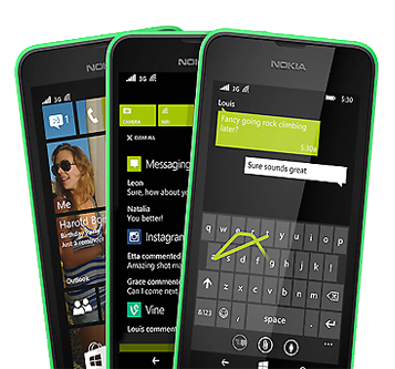 Windows Phone 8 on the Nokia Lumia 530
