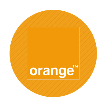 Orange network logo