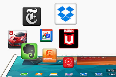 App downloads for your tablet device