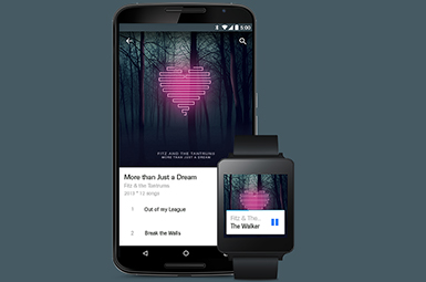 Sync your smartphone with Android Wear