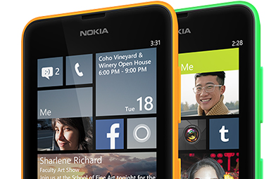 Windows phones Live Tiles UI