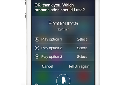 Apple iPhone 4s - Siri
