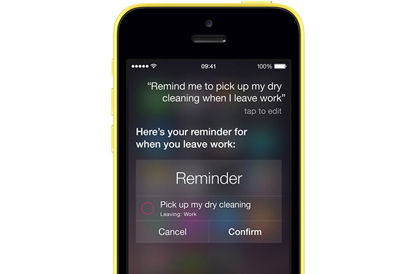Siri - Apple iPhone 5c
