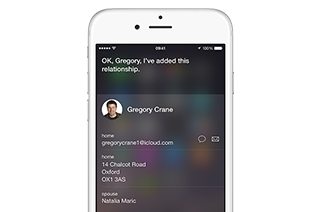 Siri - Apple iPhone 6 Plus