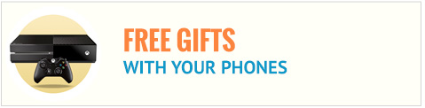 Free gifts with phone contracts