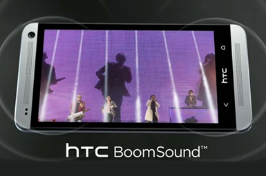HTC BoomSound Speakers